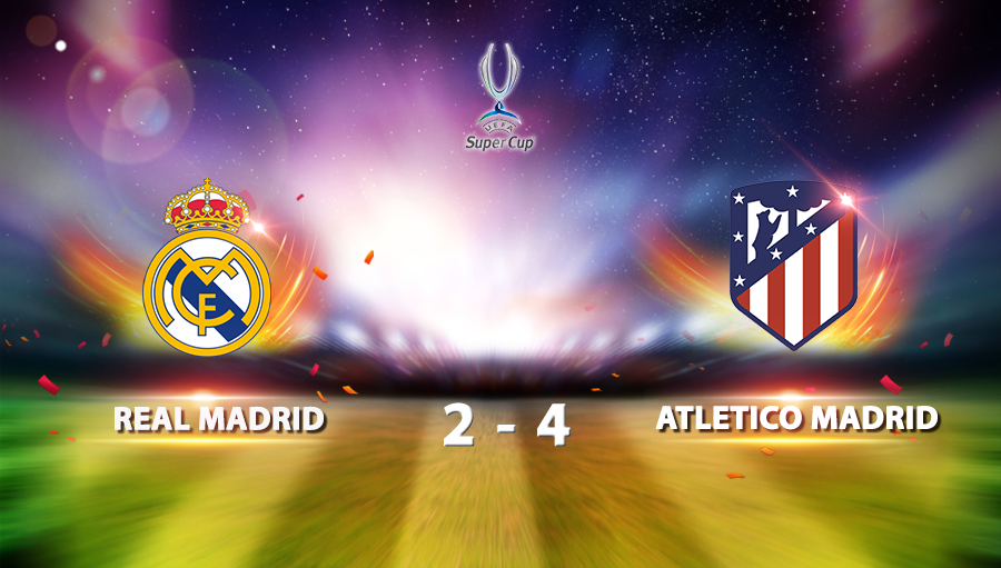Real Madrid 2-4 Atletico Madrid