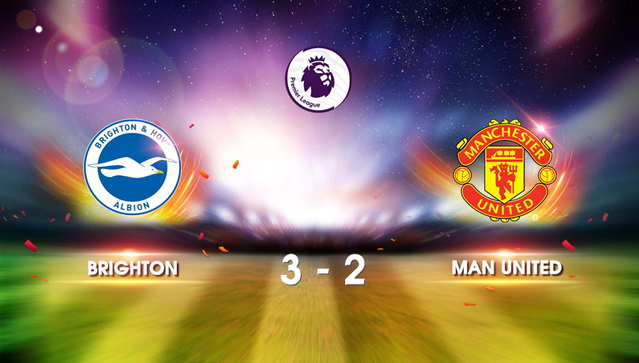 Brighton 3-2 Man United