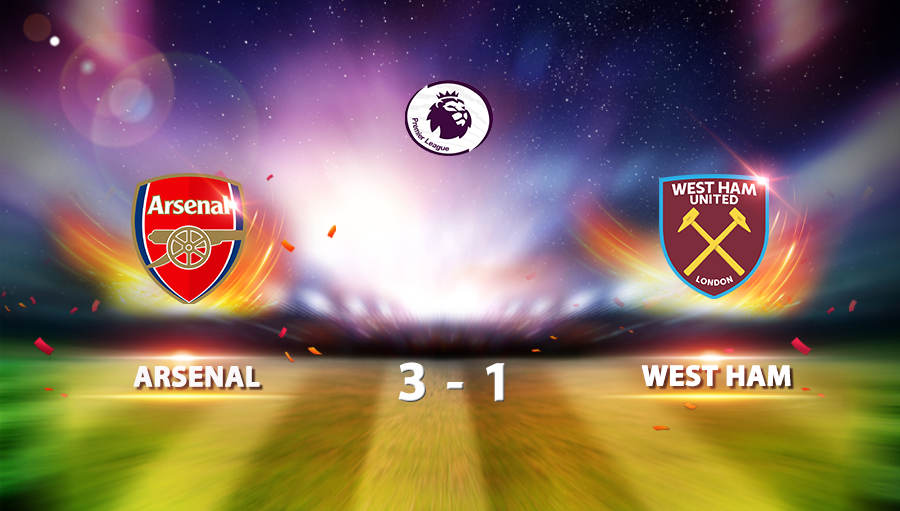 Arsenal 3-1 West Ham