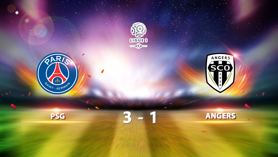 PSG 3-1 Angers