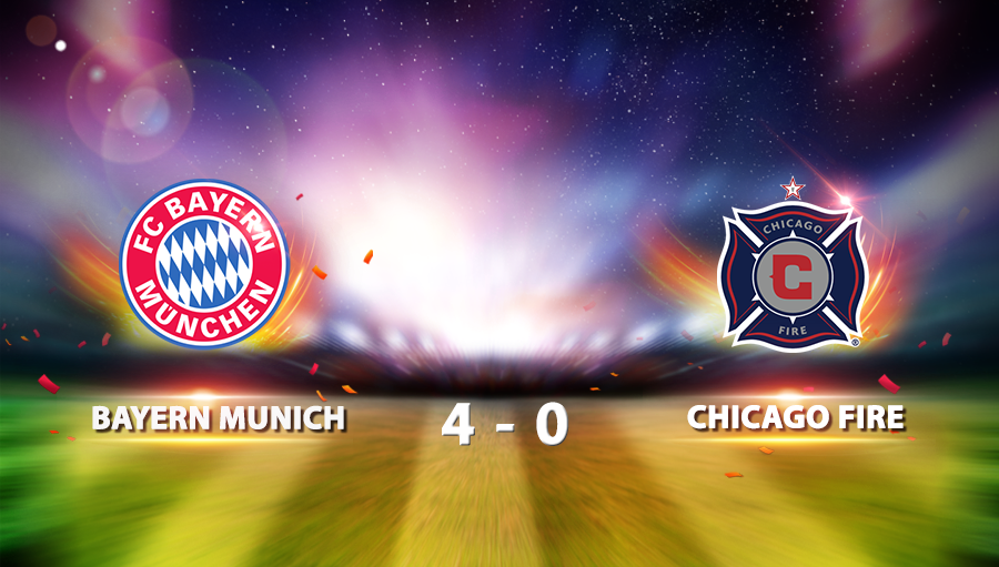 Bayern Munich 4-0 Chicago Fire