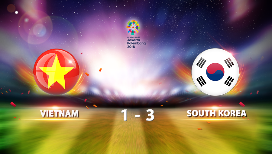Vietnam 1-3 South Korea