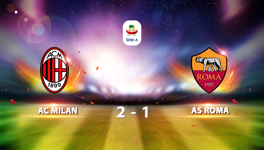 AC Milan 2-1 AS Roma