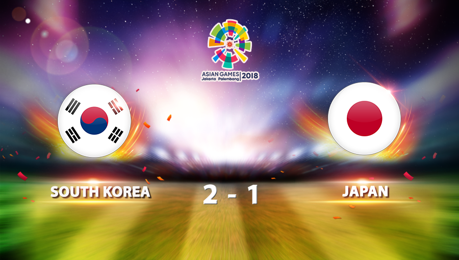 South Korea 2-1 Japan