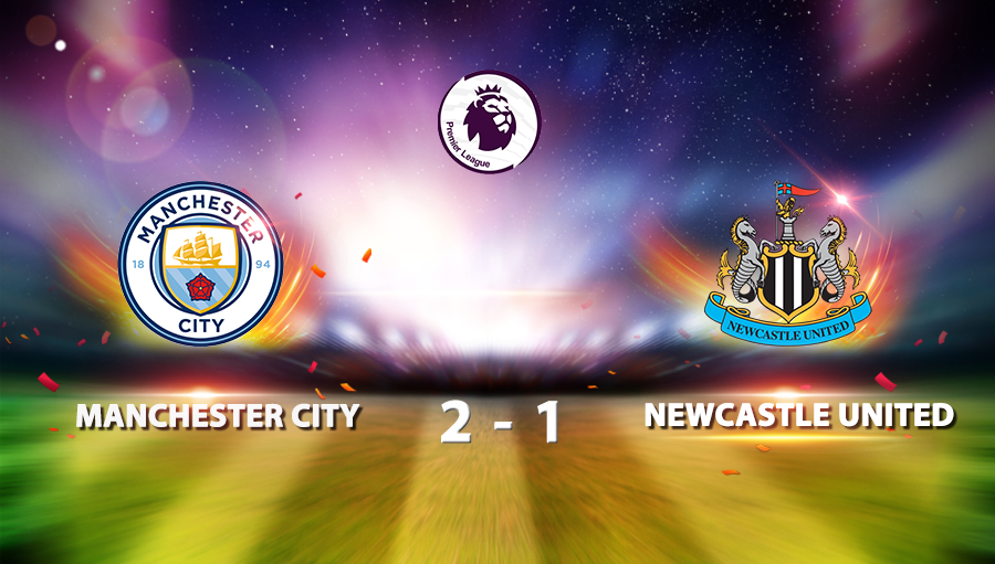 Manchester City 2-1 Newcastle United