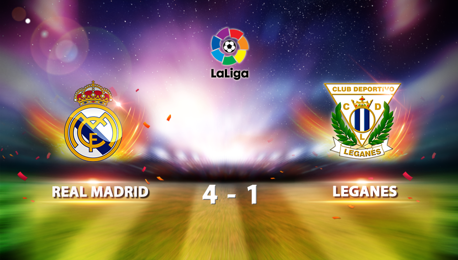 Real Madrid 4-1 Leganes