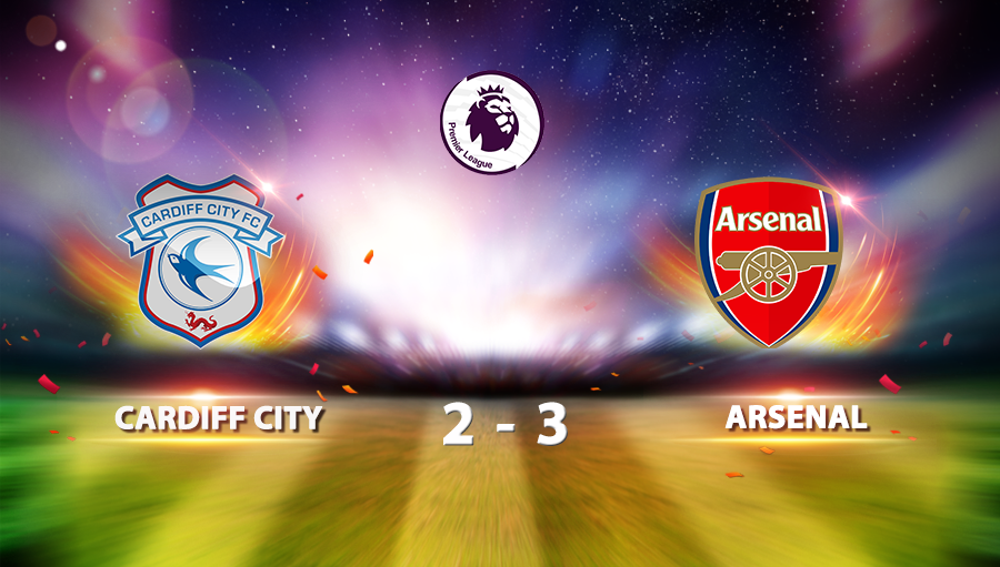 Cardiff City  2-3 Arsenal