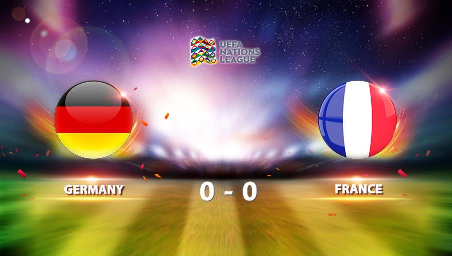 Germany 0-0 France