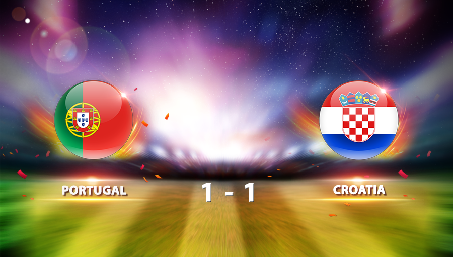 Portugal 1-1 Croatia