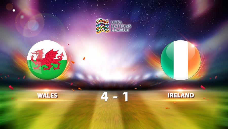 Wales 4-1 Republic of Ireland