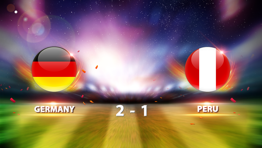 Germany 2-1 Peru