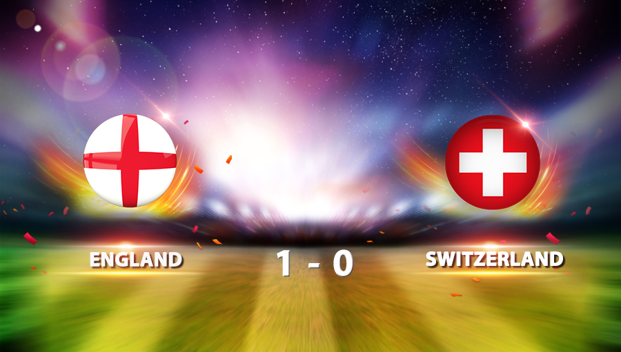 England 1-0 Switzerland