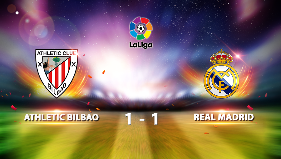 Athletic Bilbao 1-1 Real Madrid