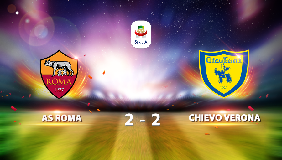 AS Roma 2-2 Chievo