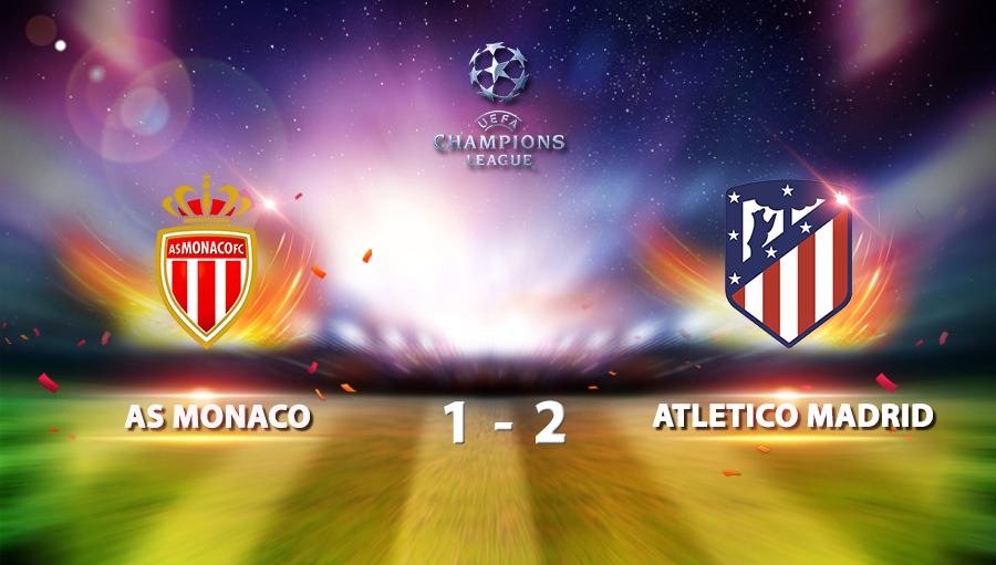 AS Monaco 1-2 Atletico Madrid