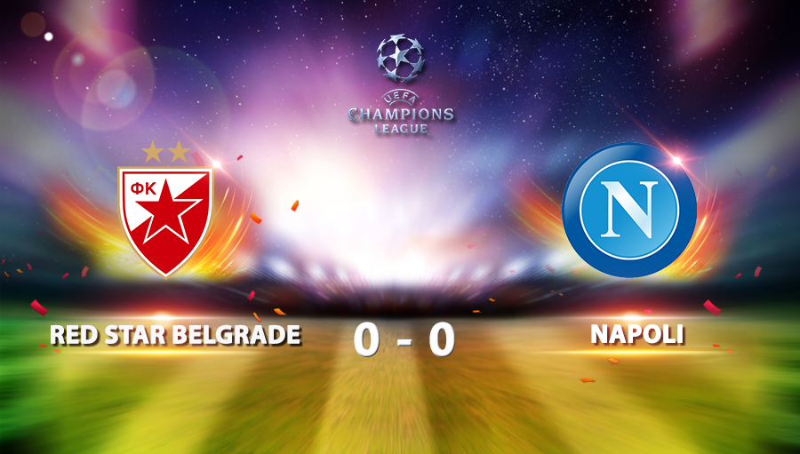 Red Star Belgrade 0-0 Napoli