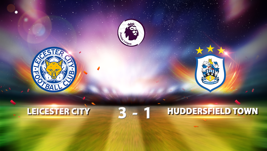 Leicester City 3-1Huddersfield Town