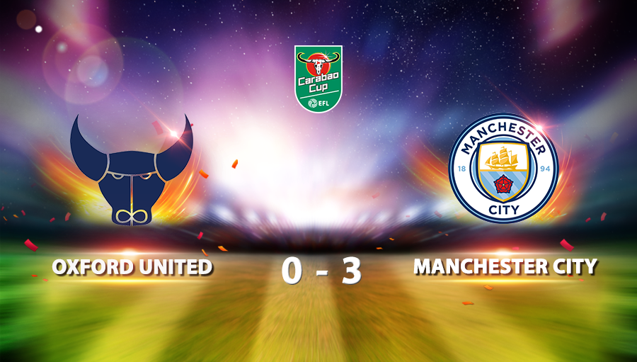 Oxford United 0-3 Manchester City
