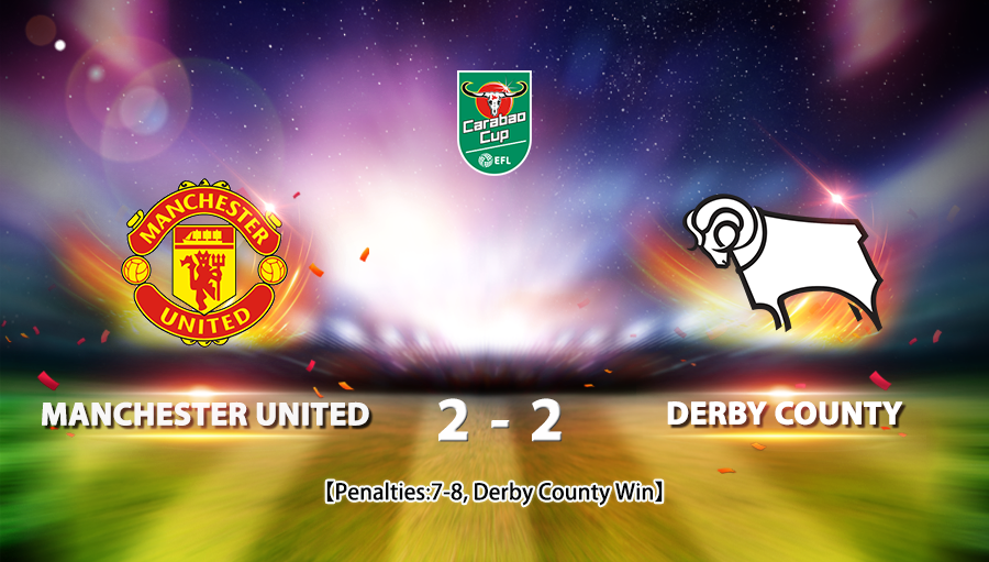 Manchester United 2-2 Derby County *