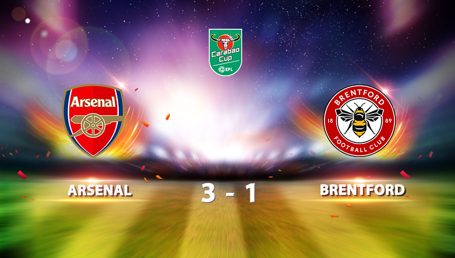 Arsenal 3-1 Brentford