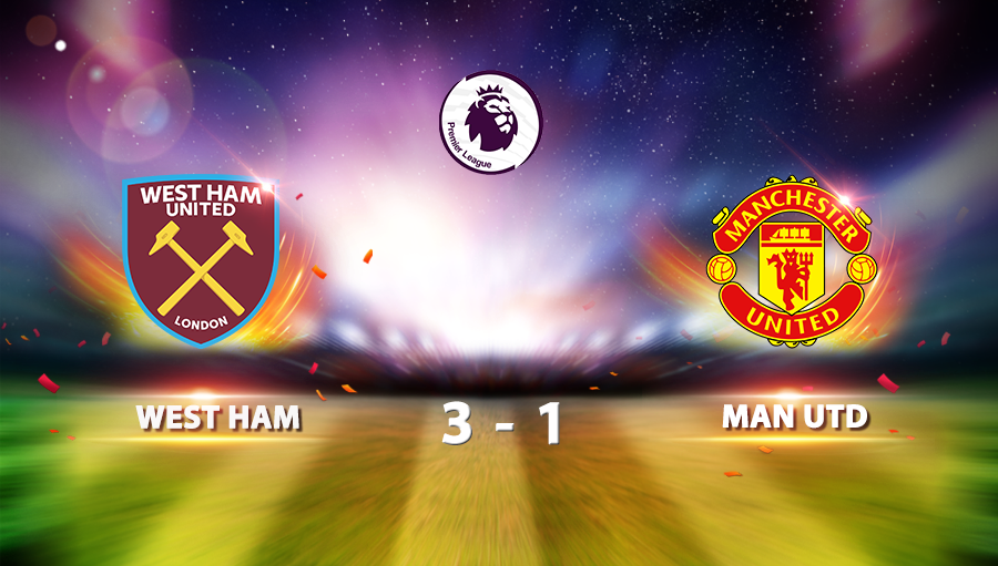 West Ham United 3-1 Manchester United