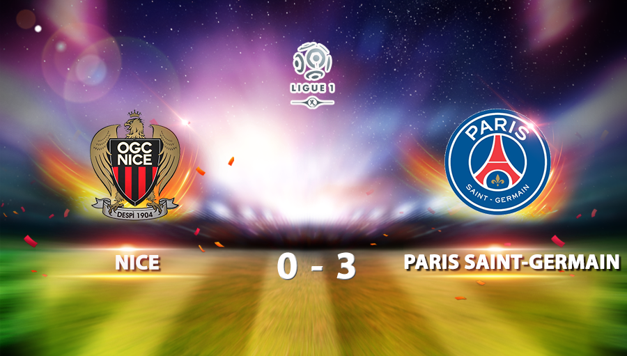 Nice Paris Saint 0-3 Germain
