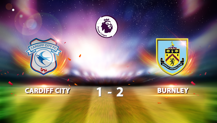 Cardiff City 1-2 Burnley