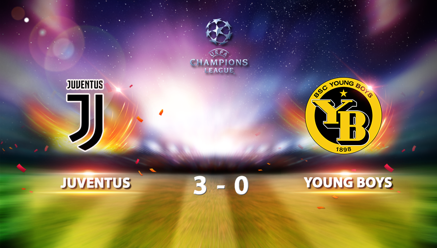Juventus 3-0 Young Boys