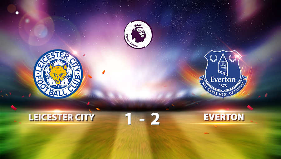 Leicester City 1-2 Everton