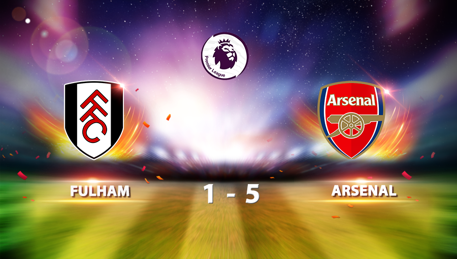Fulham 1-5 Arsenal