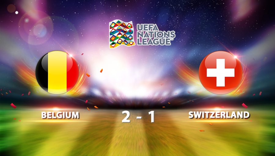 Belgium 2-1 Switzerland