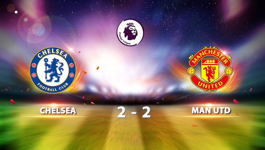 Chelsea 2-2 Manchester United