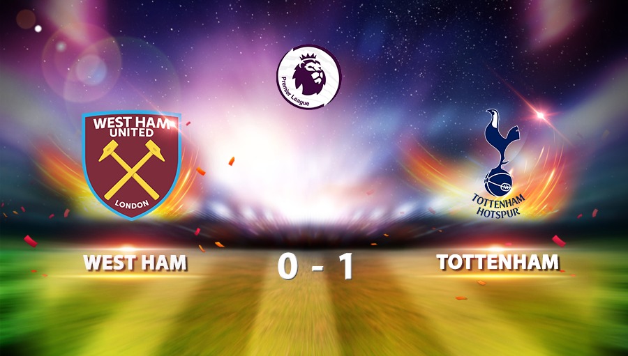 West Ham United 0-1 Tottenham Hotspur