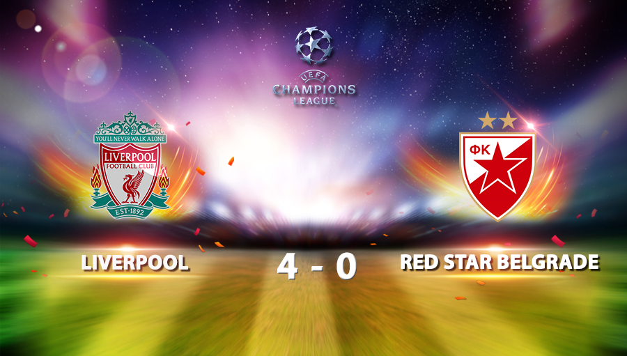 Liverpool 4-0 Red Star Belgrade