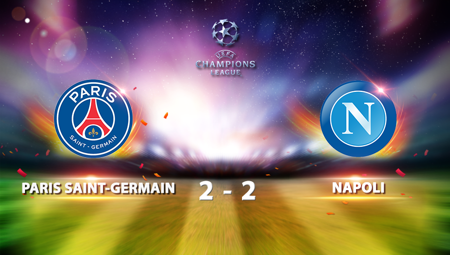 Paris Saint Germain 2-2 Napoli