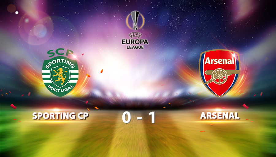 Sporting CP 0-1 Arsenal