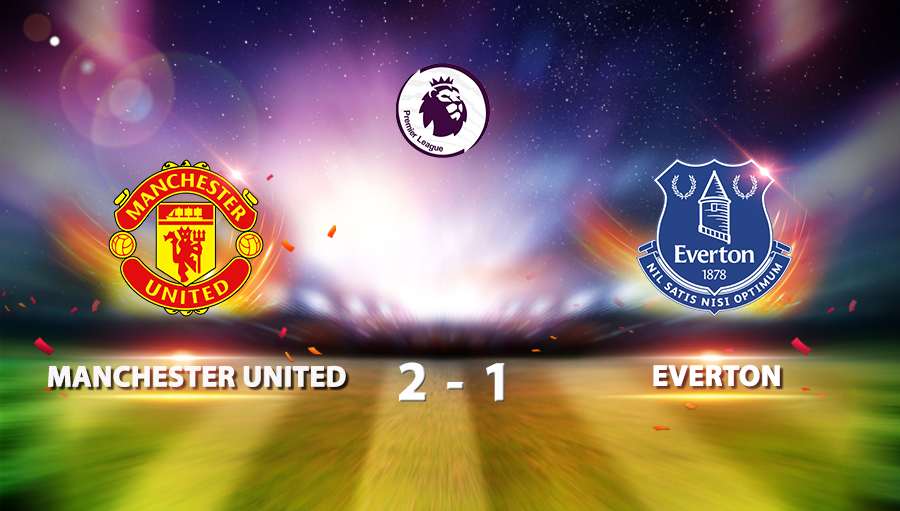 Manchester United 2-1 Everton