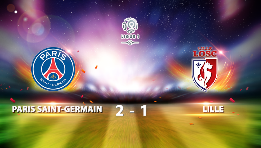 Paris Saint Germain 2-1 Lille