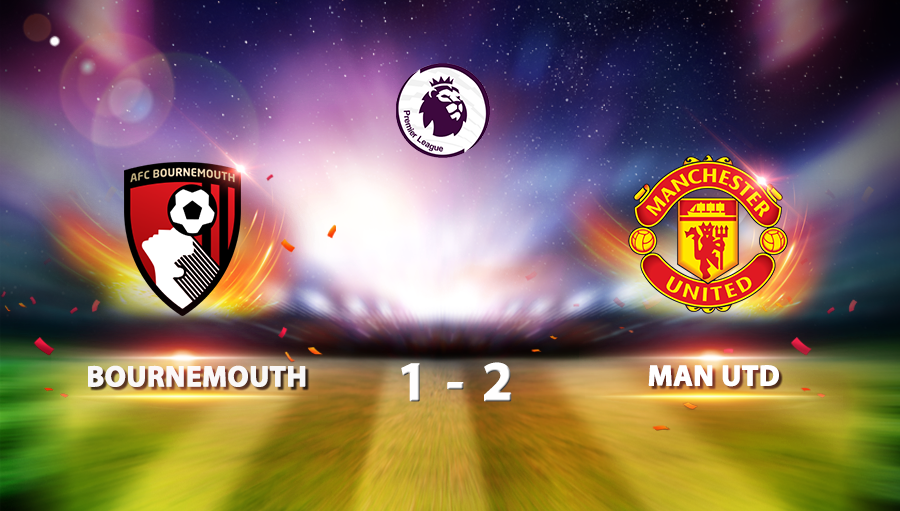 AFC Bournemouth 1 - 2 Manchester United