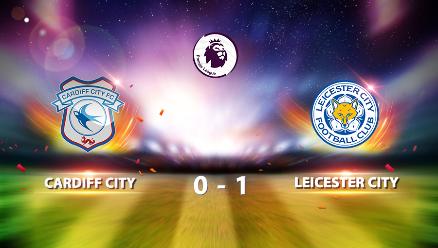 Cardiff City 0-1 Leicester City