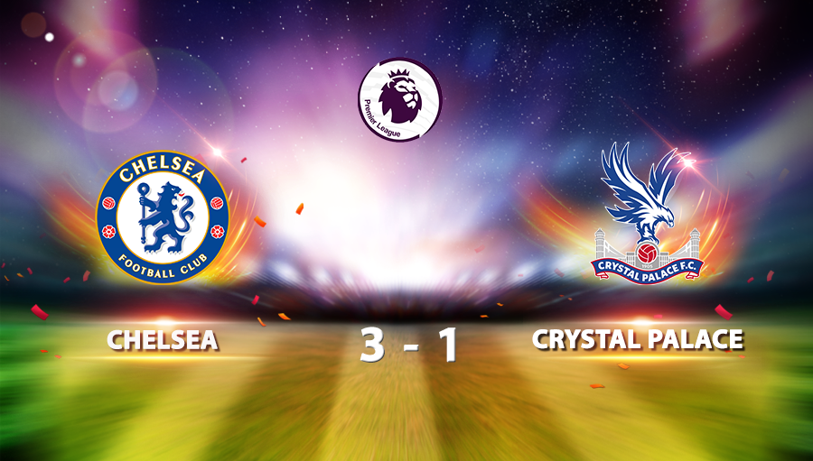 Chelsea 3-1 Crystal Palace