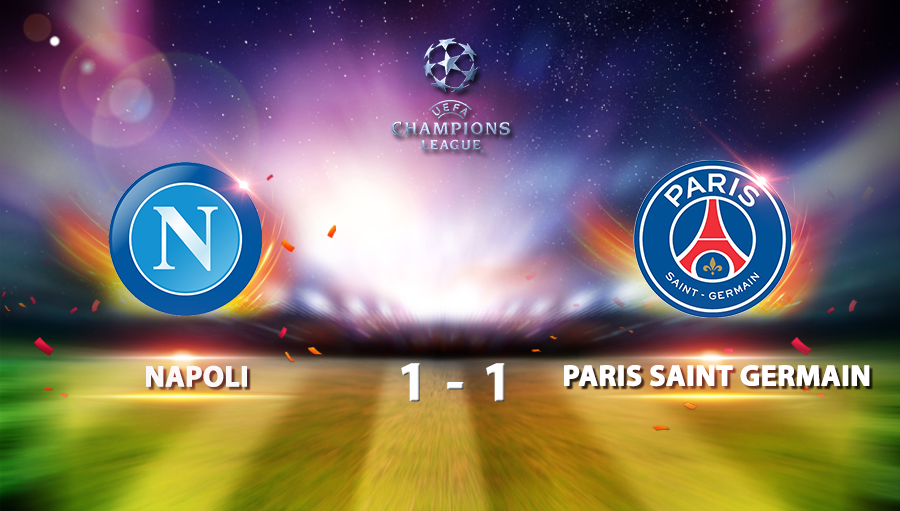 Napoli 1-1 Paris Saint Germain