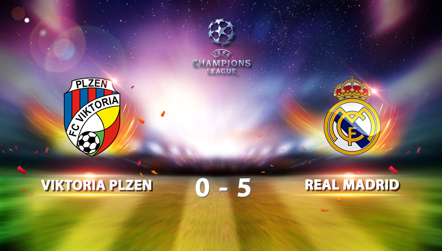 Viktoria Plzen 0-5 Real Madrid