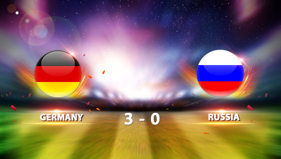 Germany 3-0 Russia