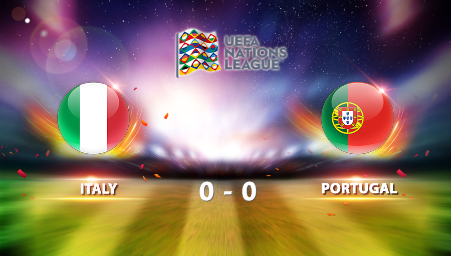 Italy 0-0 Portugal