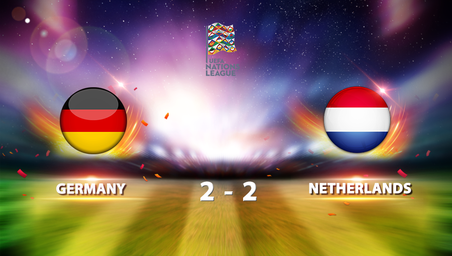 Germany 2-2 Netherlands