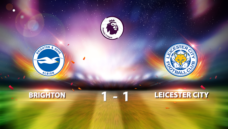 Brighton 1-1 Leicester City