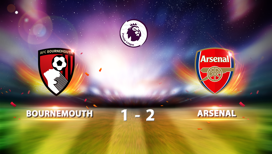 Bournemouth 1-2 Arsenal