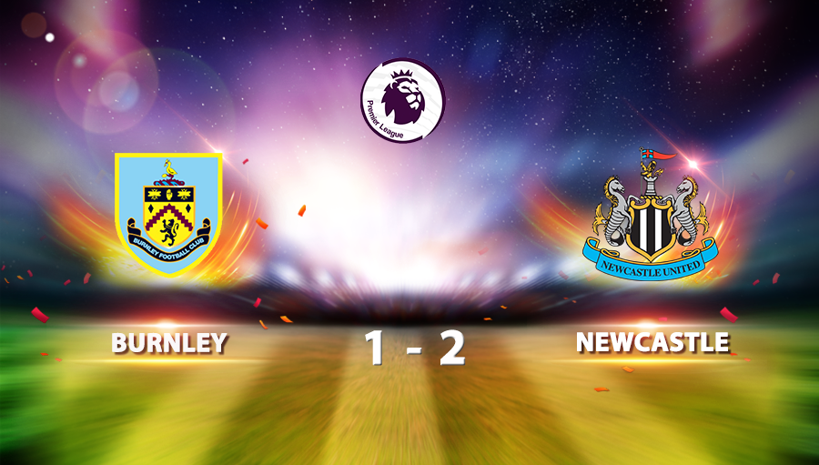Burnley 1-2 Newcastle