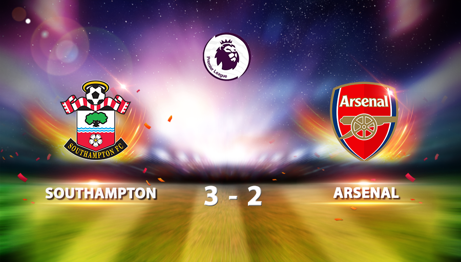 Southampton 3-2 Arsenal